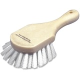 "SKILCRAFT All Purpose Scrub Brush - 1.25"" Length Bristles - 5"" Length Handle - 1 Each - Nylon Bristl NSN0610038"
