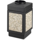 """Safco Open Top 38-Gallon Receptacle - 38 gal Capacity - 31.5"""" Height x 18.3"""" Width x 18.3"""" Depth - P SAF9471"""