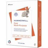 """Hammermill Punched Fore Multipurpose Paper - Letter - 8.50"""" x 11"""" - 20 lb Basis Weight - 0% Recycled HAM103275RM"""
