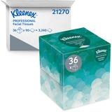 KCC21270CT - Kleenex Upright Box Facial Tissue