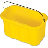 "Rubbermaid 10 Quart Sanitizing Caddy - 10 quart - 8"" x 14"" x 7.5"" - Yellow RCP9T8200YW"