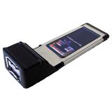 B&B SATA2PX-100 2 Port eSerial ATA ExpressCard