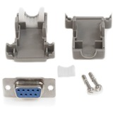 StarTech.com Assembled DB9 Female Solder D-SUB Connector with Plastic Backshell
