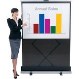 "QRT980S - Quartet Euro 80"" Manual Projection Screen"