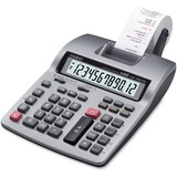 HR-150TM Two-Color Printing Calculator, 12-Digit LCD, Black/Red  MPN:HR150TM