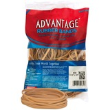 "Alliance Advantage Rubber Bands - Size: #33 - 3.50"" Length x 0.13"" Width - 150 / Pack - Crepe - Natu ALL06337"