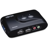 Tripp Lite B004-VUA2-K-R 2-Port USB KVM Switch