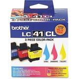 LC413PKS Ink, 400 Page-Yield, 3/Pack, Cyan; Magenta; Yellow  MPN:LC413PKS