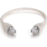 C2G 25 ft Cat6 Snagless UTP Unshielded Network Patch Cable (USA) - Gray
