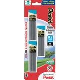 PENC27BPHB3K6 - Pentel Super Hi-Polymer HB Lead Refill