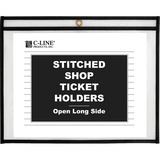 C-Line Side Load Stitched Shop Ticket Holders