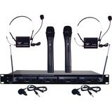 Pyle PDWM4300 Wireless Microphone System