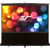 "Elite Screens ezCinema F120NWH Manual Projection Screen - 120"" - 16:9 - Floor Mount"