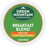 Green Mountain Coffee Roasters® Breakfast Blend Decaf Coffee K-Cups, 24/Box GMT7522