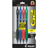 G2 Retractable Gel Ink Pen - Fine Point Type - 0.7 mm Point Size - Point Point Style - Refillable -  PIL31034