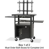 BLT27530 - Balt Adjustable Height Flat Panel TV Cart Box ...