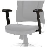 Balt Reflex Upholstered Arm - Black - 2 / Pair BLT34438