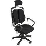 "Balt Spine Align Executive Chair - Foam, Fabric Seat - Foam Back - 5-star Base - Black - 26"" Width x BLT34556"