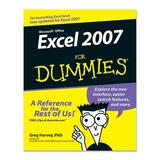Wiley Excel 2007 For Dummies Software Printed Manual by Greg Harvey