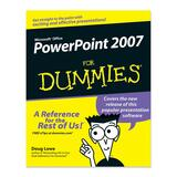 Wiley PowerPoint 2007 For Dummies Software Printed Manual by Doug Lowe