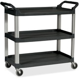 RCP342488BK - Rubbermaid Commercial Economy Cart