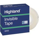 3M Highland Permanent Invisible Transparent Tape