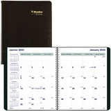 Blueline Wirebound Monthly Planner