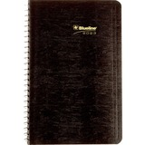 Blueline Wirebound Daily Appointment Planner