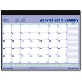 Blueline Desk Planner Monthly Refill