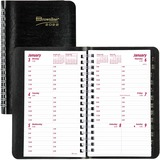 Blueline Brownline Telephone/Weekly Appointment Book