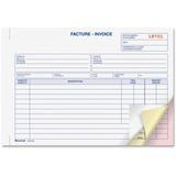 Blueline Bilingual Invoice Book