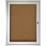 Ghent 1-Door Indoor Enclosed Bulletin Board
