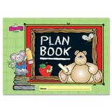 Carson-Dellosa Grade K-5 Plan Book - Weekly - Spiral Bound - Wall Mountable - Assorted CDP604015