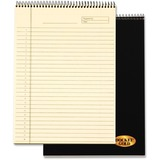 "TOPS Docket Gold Project Planner Pad - Action - 8.50"" x 11"" - Desk Pad - Ivory - Chipboard - Perfora TOP63755"
