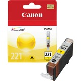 Canon CLI-221Y Yellow Ink Cartridge - Inkjet - 530 Page - 1 Each CNMCLI221Y