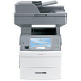 X654de Multifunction Monochrome Laser Printer/Copier/Fax/Scanner w/ Duplexing  MPN:16M1265