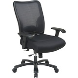 "Office Star Space Task Chair - 5-star Base - Black - 22"" Seat Width x 21"" Seat Depth - 30.3"" Width x OSP7537A773"