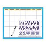 Trend Wipe-off Reusable Cling Calendar Kit