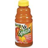 V8 Splash Fruit Juice - Tropical Flavor - 16 fl oz - 12 / Carton CAM5516