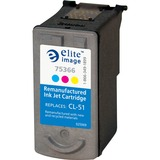Elite Image Remanufactured Ink Cartridge Alternative For Canon CL-51 - Inkjet - 330 Page - 1 Each ELI75366