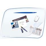 "CEP Desk Mat - 16.50"" Length x 24.80"" Width x 2.17"" Thickness - Polystyrene - Blue CEP7707404"
