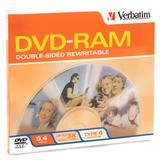 Verbatim 3x DVD-Ram DL Media