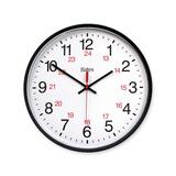 GBC Commercial 12/24 Hour Electric Wall Clock