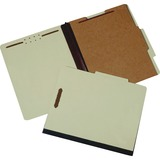 "SKILCRAFT 4-Part Classification Folder - Letter - 8 1/2"" x 11"" Sheet Size - 2"" Expansion - 2 Fastene NSN4632330"