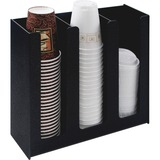 VRTVFPC1000 - Vertiflex 3-column Cup and Lid Holder Organize...