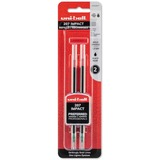 Uni-Ball Gel Impact Rollerball Pen Refill - 1 mm, Bold Point - Black Ink - Acid-free, Water Resistan SAN65808PP