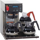 BUNN AXIOM-15-3 Brewer - Programmable - 1800 W - 1.56 gal - 12 Cup(s) - Stainless Steel, Black - Pla BUN387000002