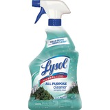 Lysol All-Purpose Cleaner - Spray - 0.25 gal (32 fl oz) - Mountain Fresh Scent - 1 Each - Blue RAC80313