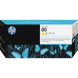HP 80 Yellow Printhead/Cleaner