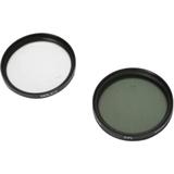 Dolica CF-K55 Filter Kit - Ultraviolet, Polarizer Filter
